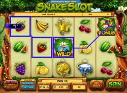 Snake Slot Screenshot 12