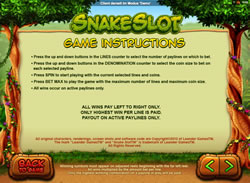 Snake Slot Screenshot 8