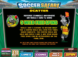 Soccer Safari Screenshot 4