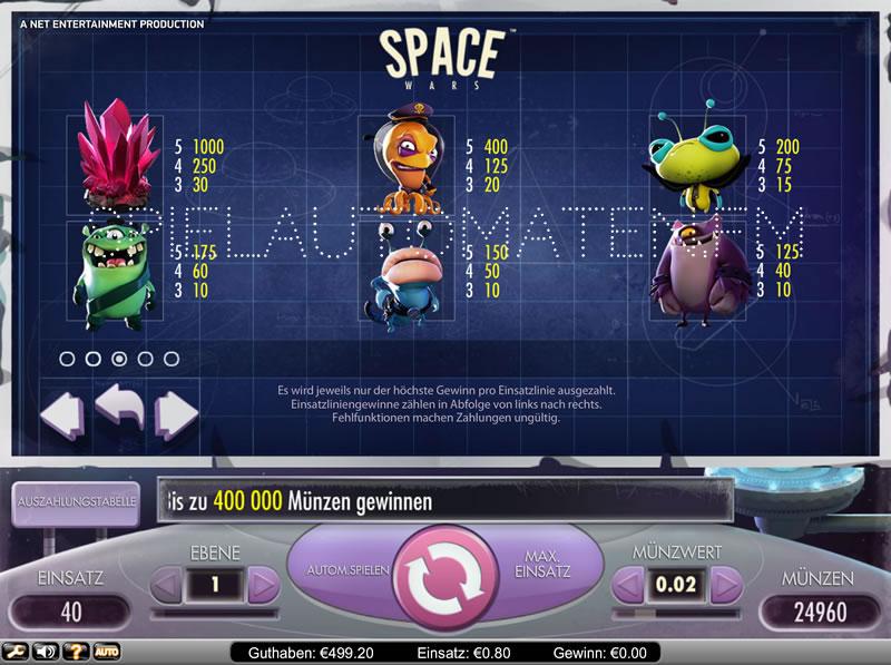 space wars spielen