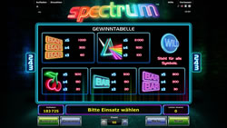 Spectrum Screenshot 2