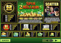 Spin 2 Millions Screenshot 4