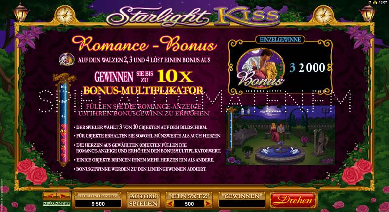 Slot Starlight Kiss –spielen Sie jetzt online kostenlos