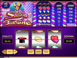 Sultans Fortune Screenshot 1