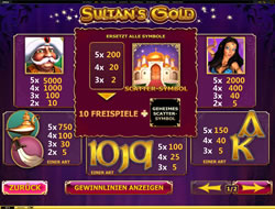 Sultans Gold Screenshot 3