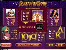 Sultans Gold Screenshot 3