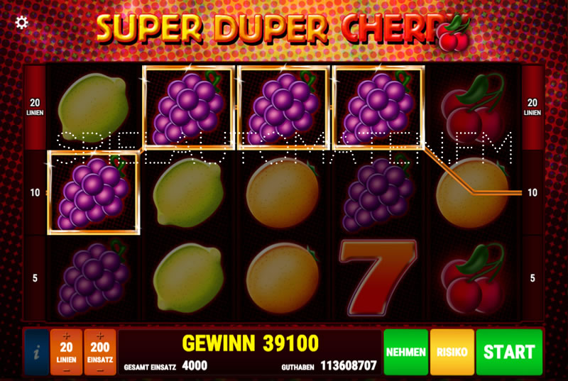 casino cherry automat