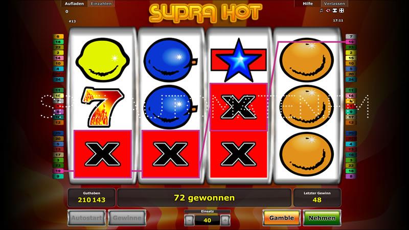 online slot supra hot kostenlos spielen