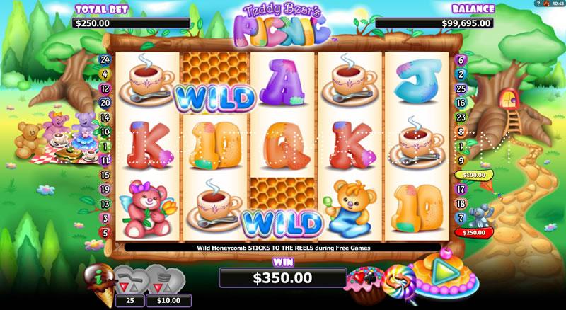 Spiele Teddy Bears Picnic - Video Slots Online