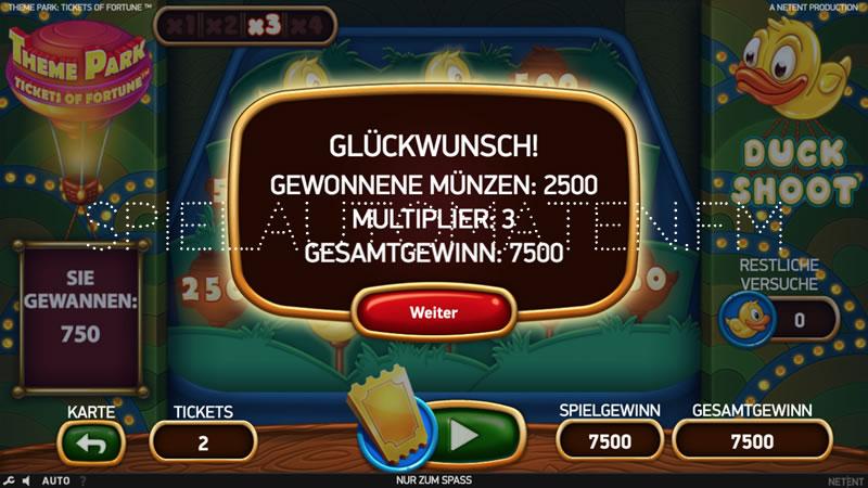 theme park: tickets of fortune spielen
