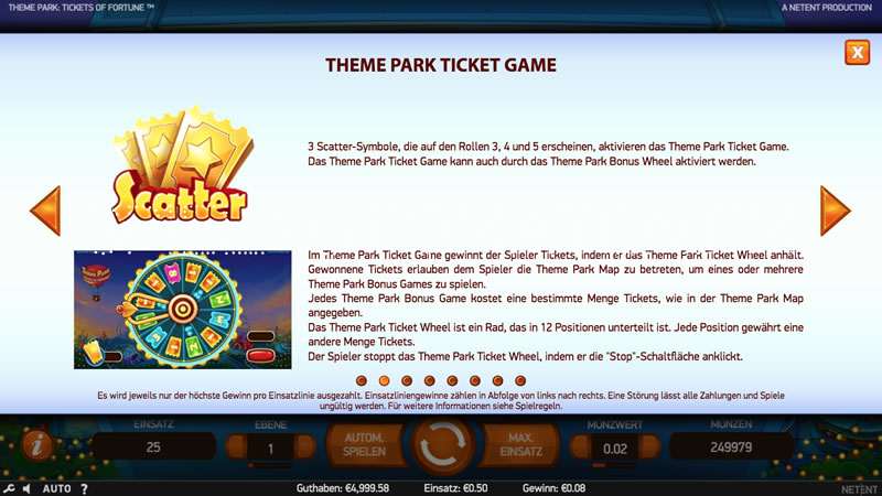 theme park: tickets of fortune spielen