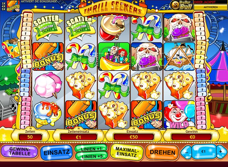 Spielen sie Thrill Seekers Automatenspiele Online bei Casino.com Österreich