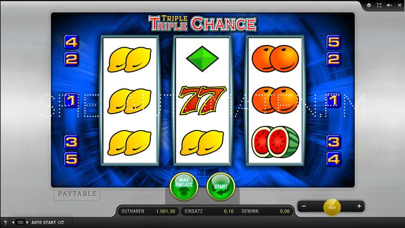 triple triple chance spielen