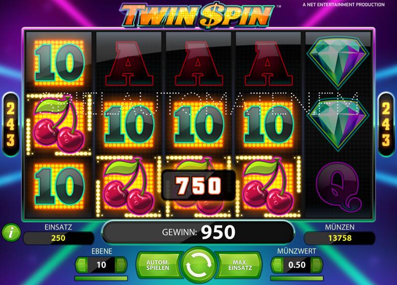twin spin spielen