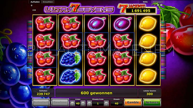 ultra sevens spielen