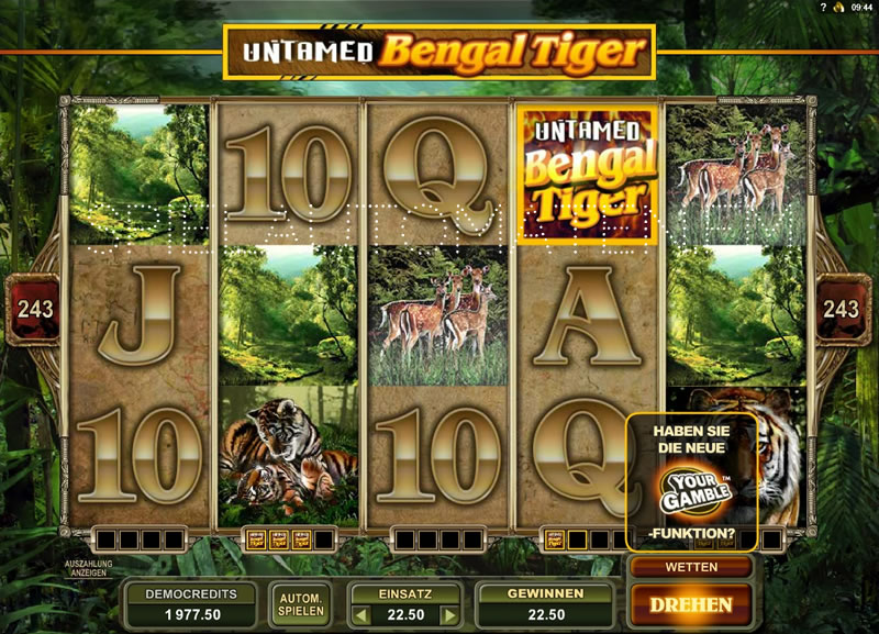 Spiele Untamed Bengal Tiger - Video Slots Online