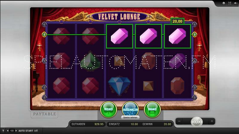 Velvet Lounge kostenlos spielen | Online-Slot.de