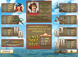 Wings of Gold Screenshot 3