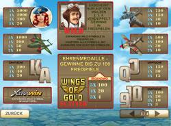 Wings of Gold Screenshot 3
