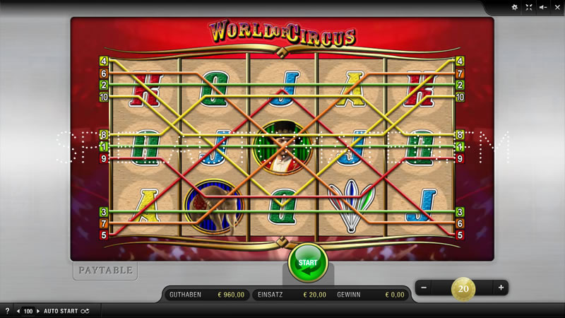 world of circus spielen