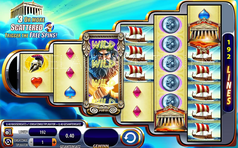 Spiele Zeus III - Video Slots Online